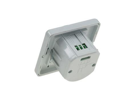 Unterputz Infrarot Bewegungsmelder Pir 160 Für Led Leuchten Ip20 Weiß