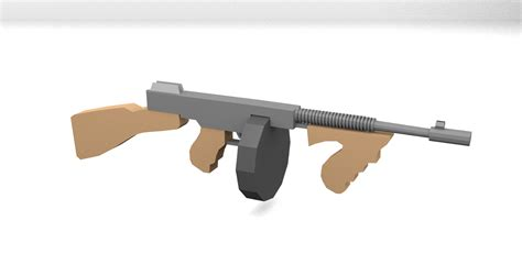 Gunkeyword Unturned Tommy Gun.