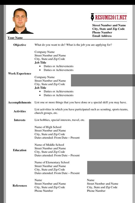 updated resume formats format resumes resume templates you can download jobstreet philippines sample resume format for - Updated Resume Templates