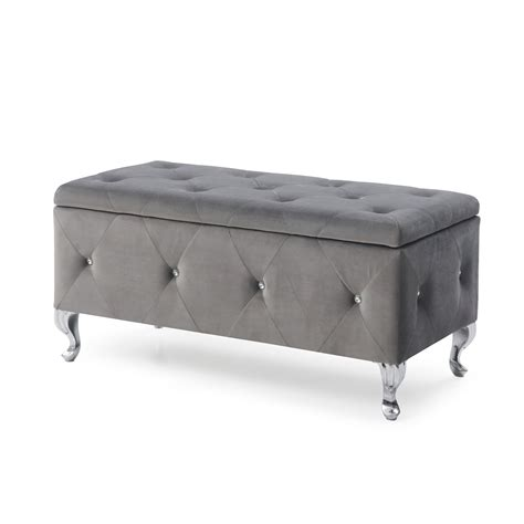 Upholstered Storage Bench By Ac Pacific