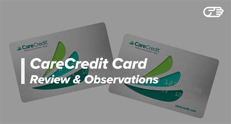 Usa Credit Card Healthcare Financing Credit Card Carecredit