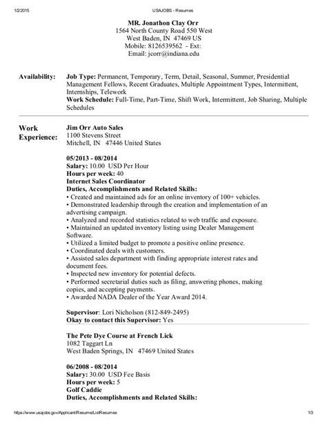 usajobs resume builder example | example of congratulation letter ... - Example Of Military Resume