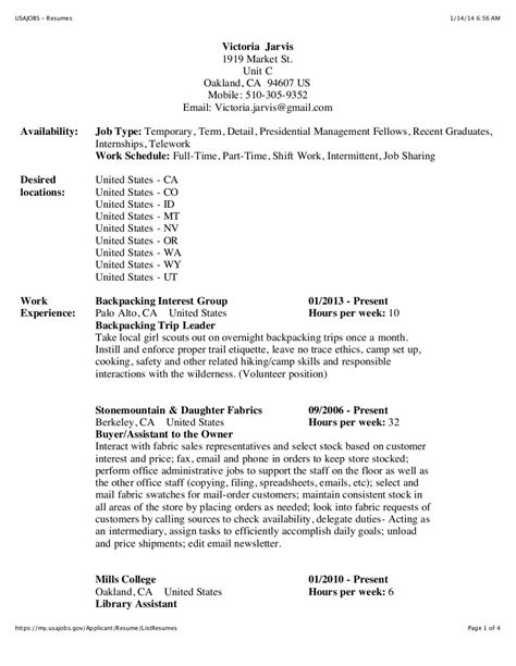 usajobs resume builder usa jobs 1 usa federal jobs resume writing service in america - Usajobs Resume Tips