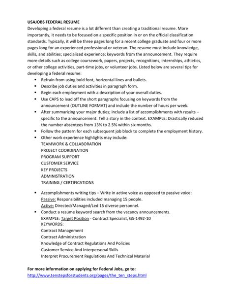 usajobsgov resume builder usajobs the federal governments official jobs site