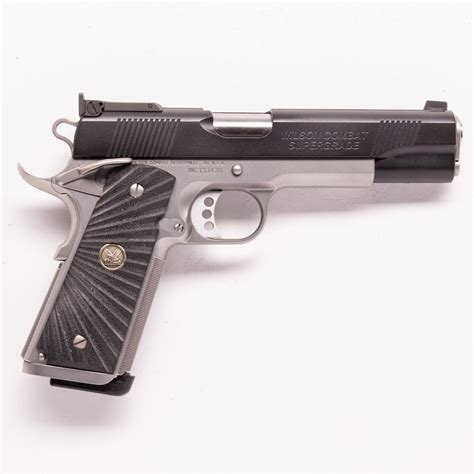 Wilson-Combat Used Wilson Combat Supergrade For Sale.