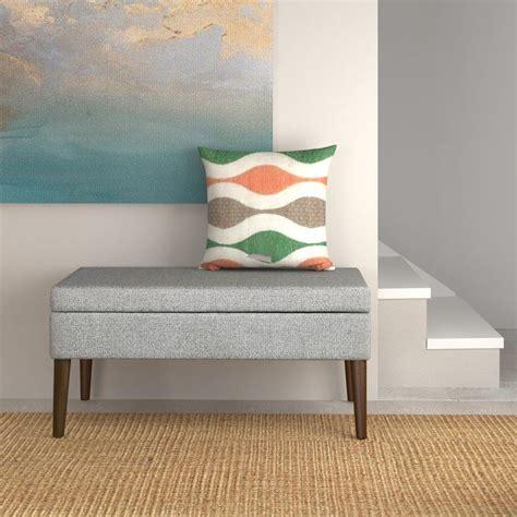 Utopia Upholstered Storage Bench