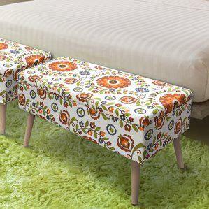 Valdovinos Mid Century Upholstered Storage Bench