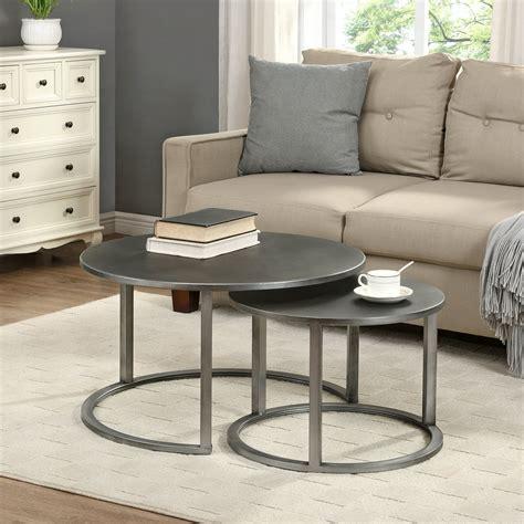 Valencia 2 Piece Coffee Table Set (Set of 2)