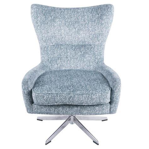 Vandoren Swivel Wingback Chair