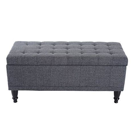 Vanwingerden Tufted Upholstered Storage Bench