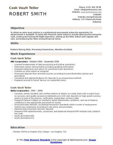 Vault Resume Guide Pdf Vault Guidesvault