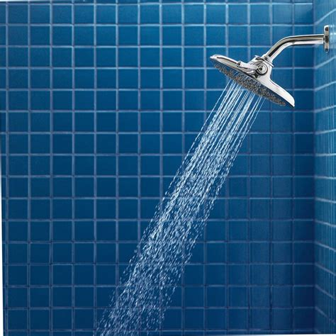 Velocity Multi Function Rain Shower Head with Immersion