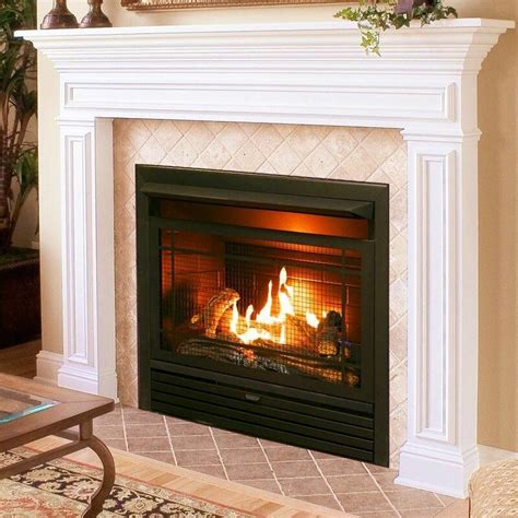 Vent Free Recessed Natural Gas/Propane Fireplace Insert