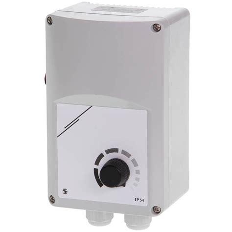 Ventilator Toerental Regelaar