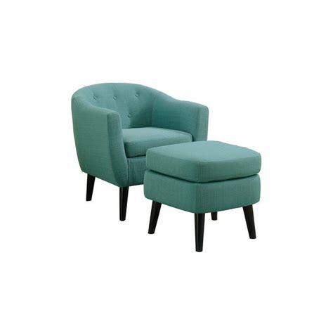 Venuti Barrel Chair and Ottoman