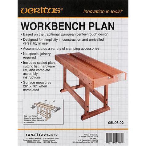 Veritas Bench Plans