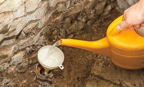 Versandeten Brunnen Reinigen