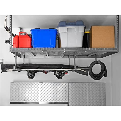 VersaRac Adjustable Ceiling Shelving Unit