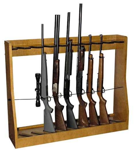 Vertical Gun Rack Woodworking Plans