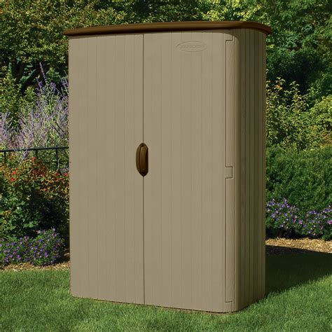 Vertical Storage Sheds