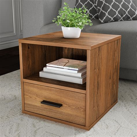 Vesely End Table with Drawer