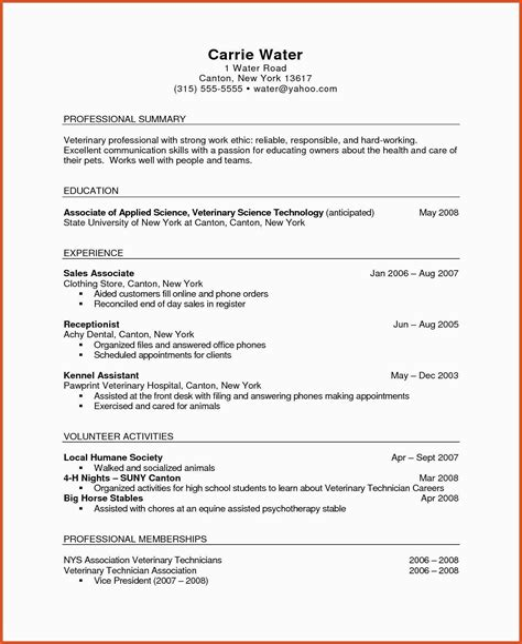 veterinary nurse resume samples nurse resume example professional