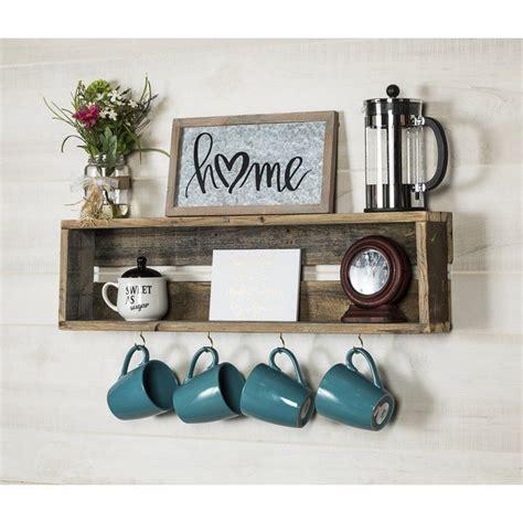 Vicente Coffee Cup Accent Shelf
