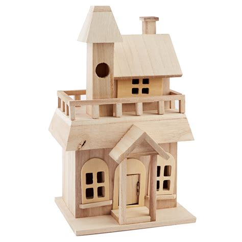 victorian unfinished bird houses