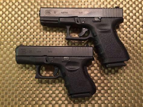 Glock-19 Videos Versus Glock 19 To Glock 26.