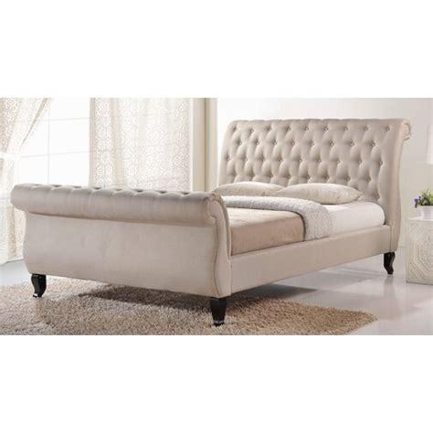 Vidette Upholstered Sleigh Bed