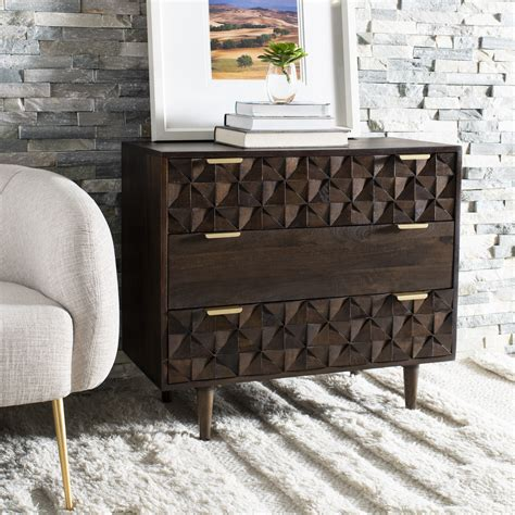 Villiford 3 Drawer Chest
