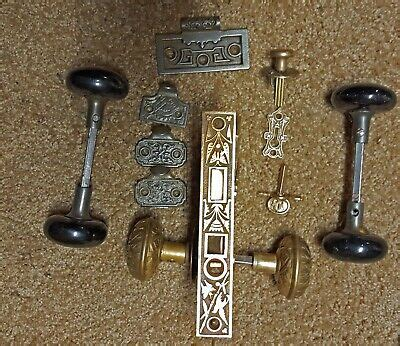Vintage Brass Door Knobs  Ebay.