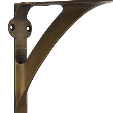 Brass Vintage Brass Shelf Brackets.