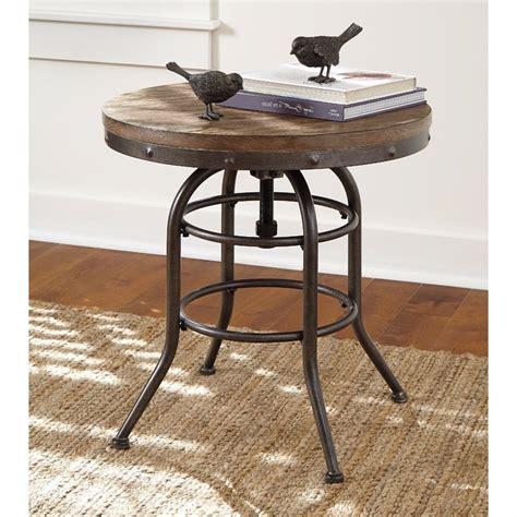 Vintage Industrial End Table