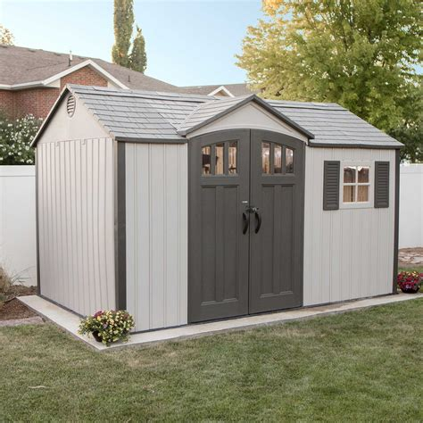 Vinyl And Resin Storage Sheds