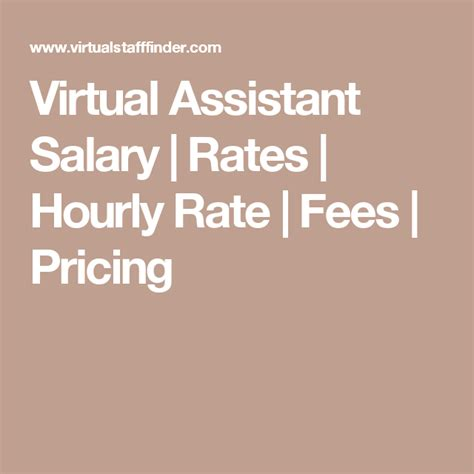 virtual executive assistant resume virtual assistant salary rates hourly rate fees