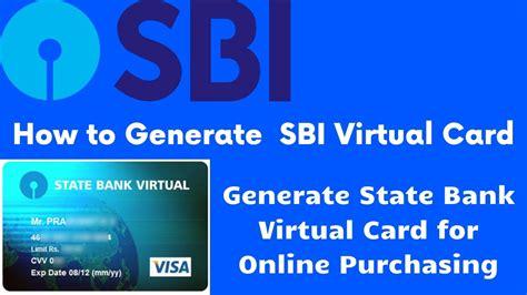 Indian Bank Credit Card Blocked Virtual Card Faq State Bank Of India