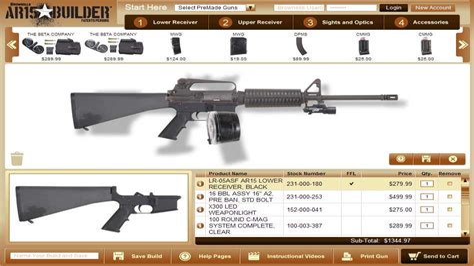 Gun-Builder Virtual Gun Builder.