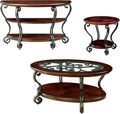 Voorhees 3 Piece Coffee Table Set