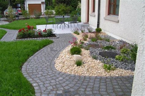 Vorgarten Gestaltung Mit Steinen