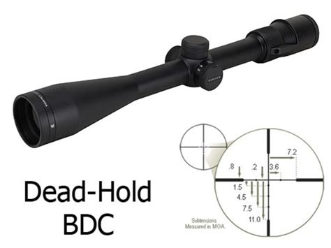 Vortex-Scopes Vortex Optics Viper Rifle Scope 4-12x 40mm Dead-Hold Bdc Reticle.