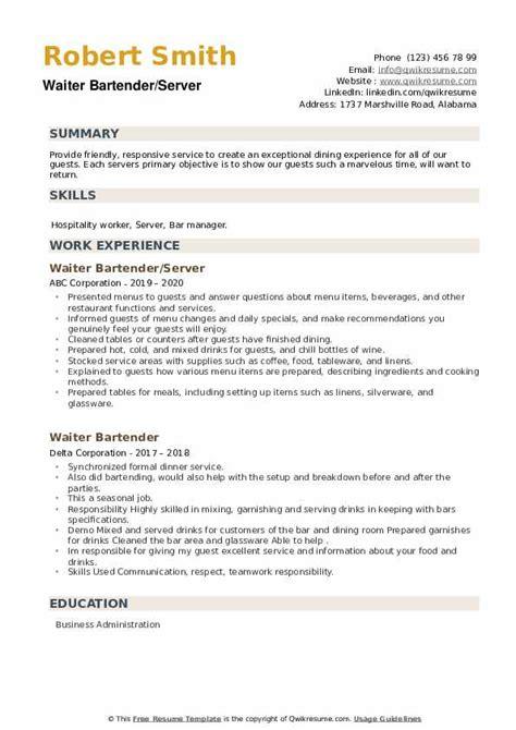 Sample Sales Invoice Bartender Resume Skills College Cover Letter     Job Application Sample Resume Examples Cover Letter Resume Template For Bartender Resume Template  For     Bartender Resume