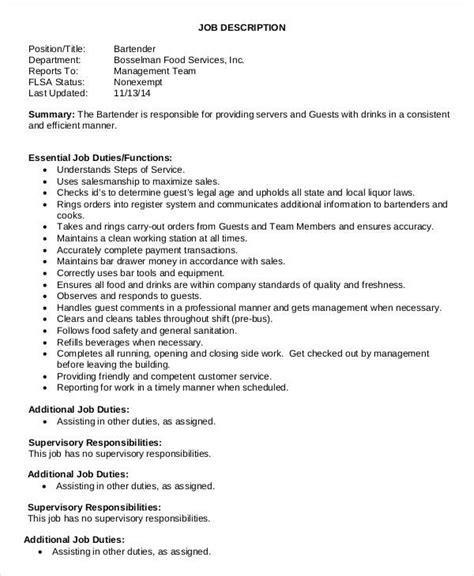 waitress bartender resume nurse resume job objective