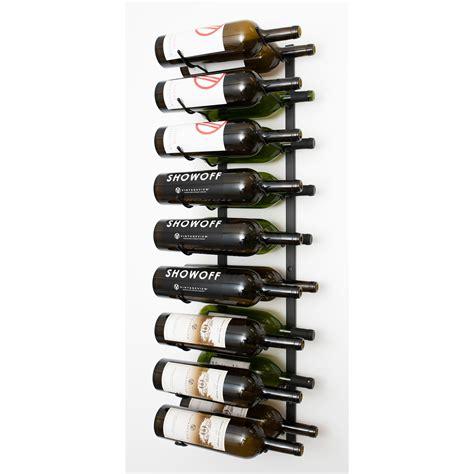 Wall Series 18 Bottle Wall Mounted Wine Rac by