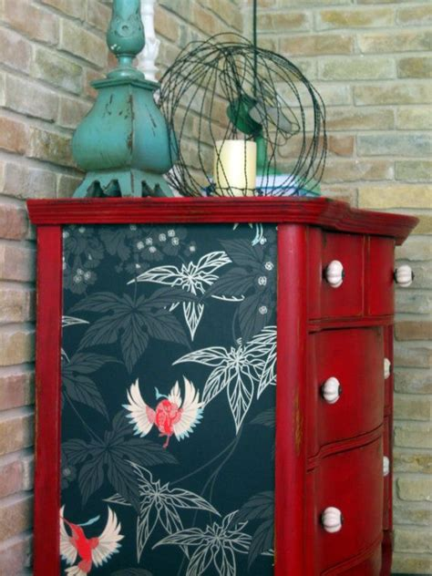 Wallpaper Furniture Diy
