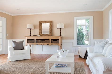 Wandfarbe Wohnzimmer Sand
