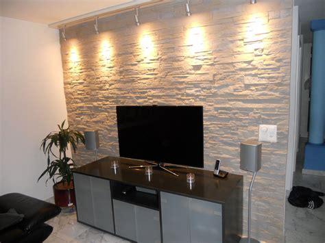 Wandgestaltung Wohnzimmer Fliesen