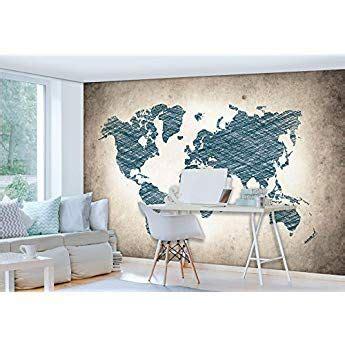 Wandplakat Weltkarte