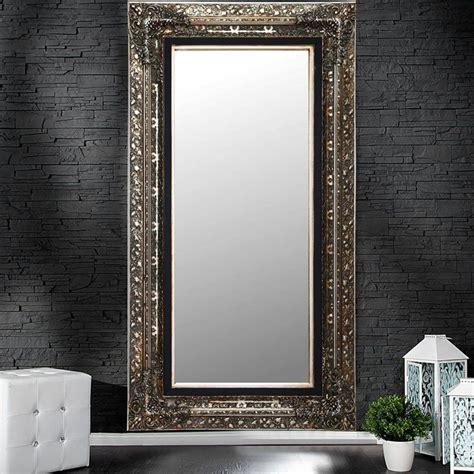 Wandspiegel Silber Groß