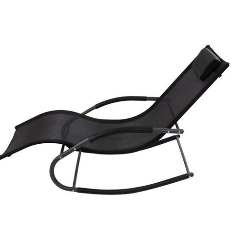 Ware Rocking Wave Chaise Lounge with Pillow